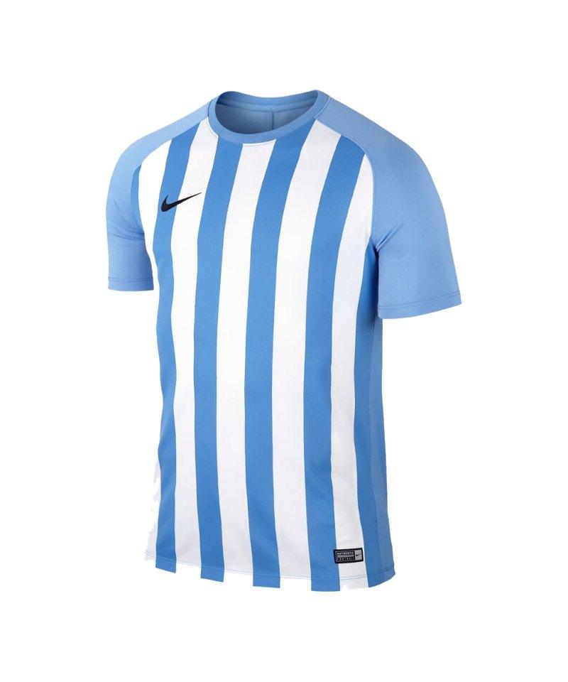 Nike kurzarm Trikot Striped Segment III Blau F412 - blau