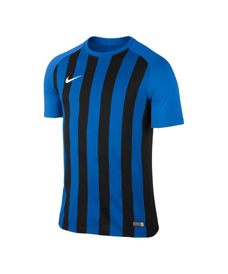 Nike kurzarm Trikot Striped Segment III Blau F455 - blau
