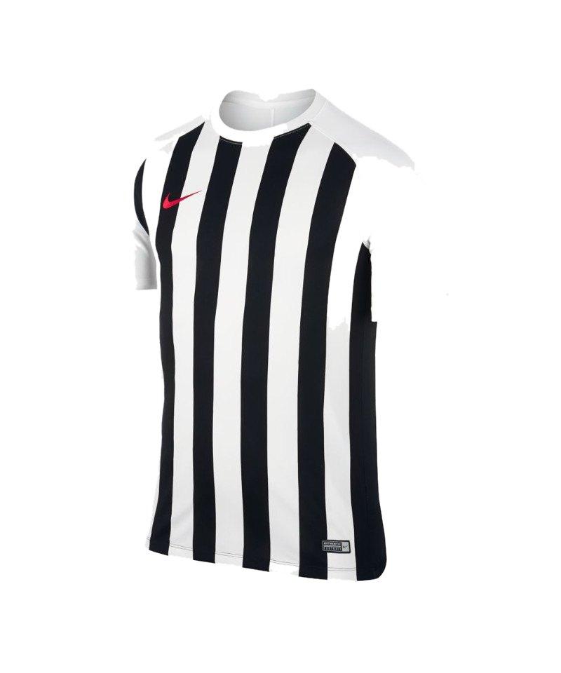 Nike kurzarm Trikot Striped Segment III Weiss F100 - weiss