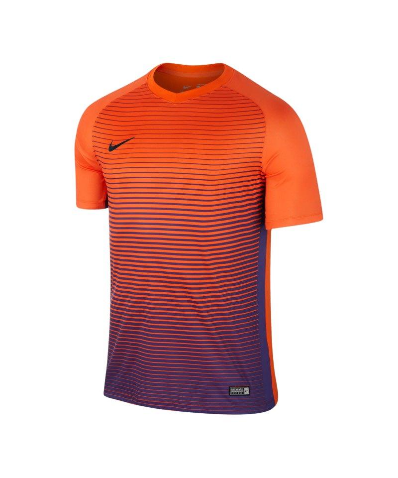Nike kurzarm Trikot Precision IV Kinder Orange F815 - orange