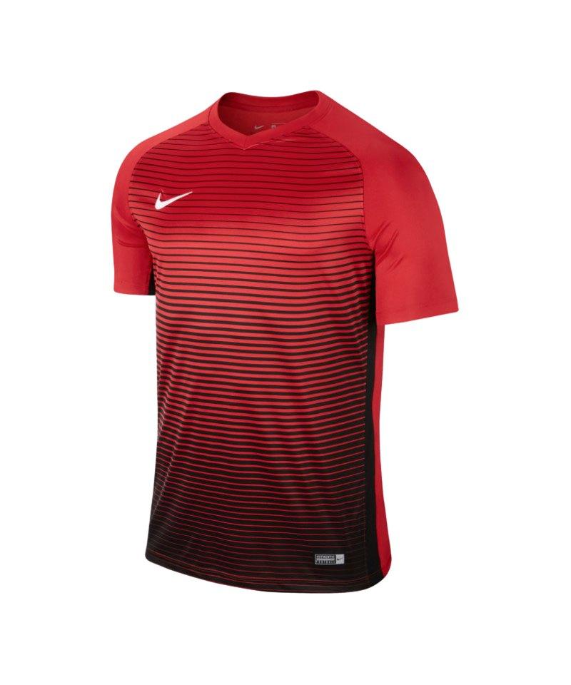 Nike kurzarm Trikot Precision IV Kinder Rot F657 - rot