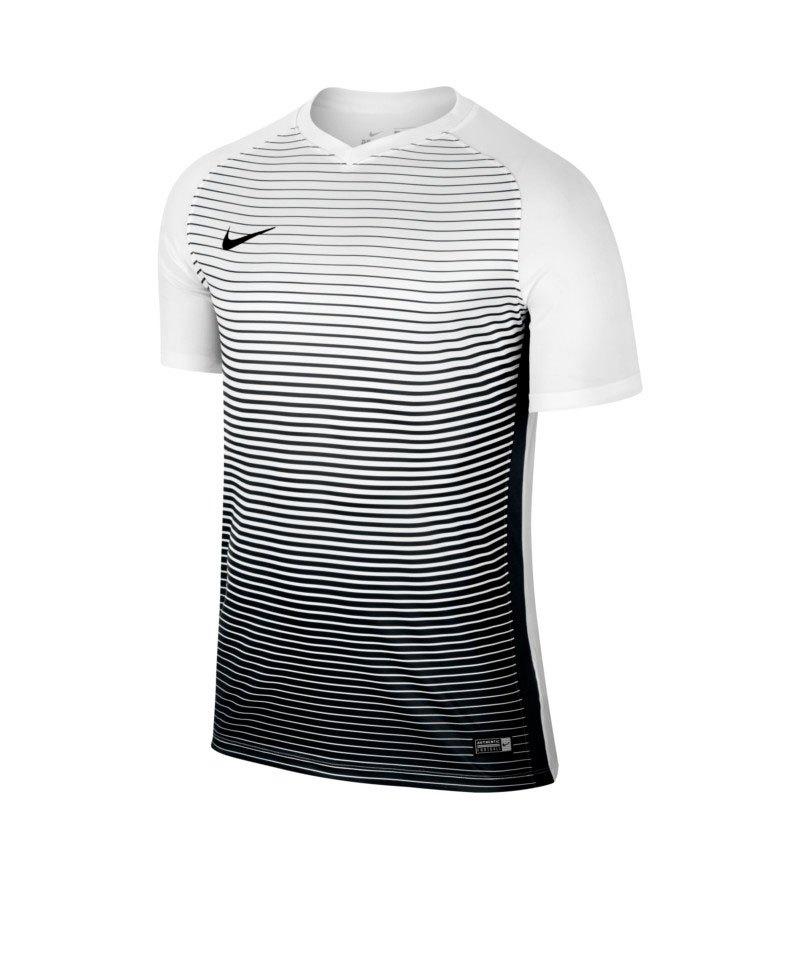 Nike kurzarm Trikot Precision IV Kinder Weiss F100 - weiss