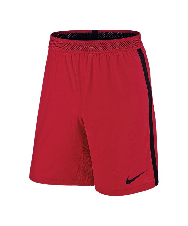 Nike Knit Short Vapor I Rot Schwarz F657 - rot