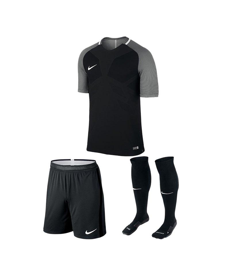 Nike Trikotset Vapor I Schwarz F010 - schwarz