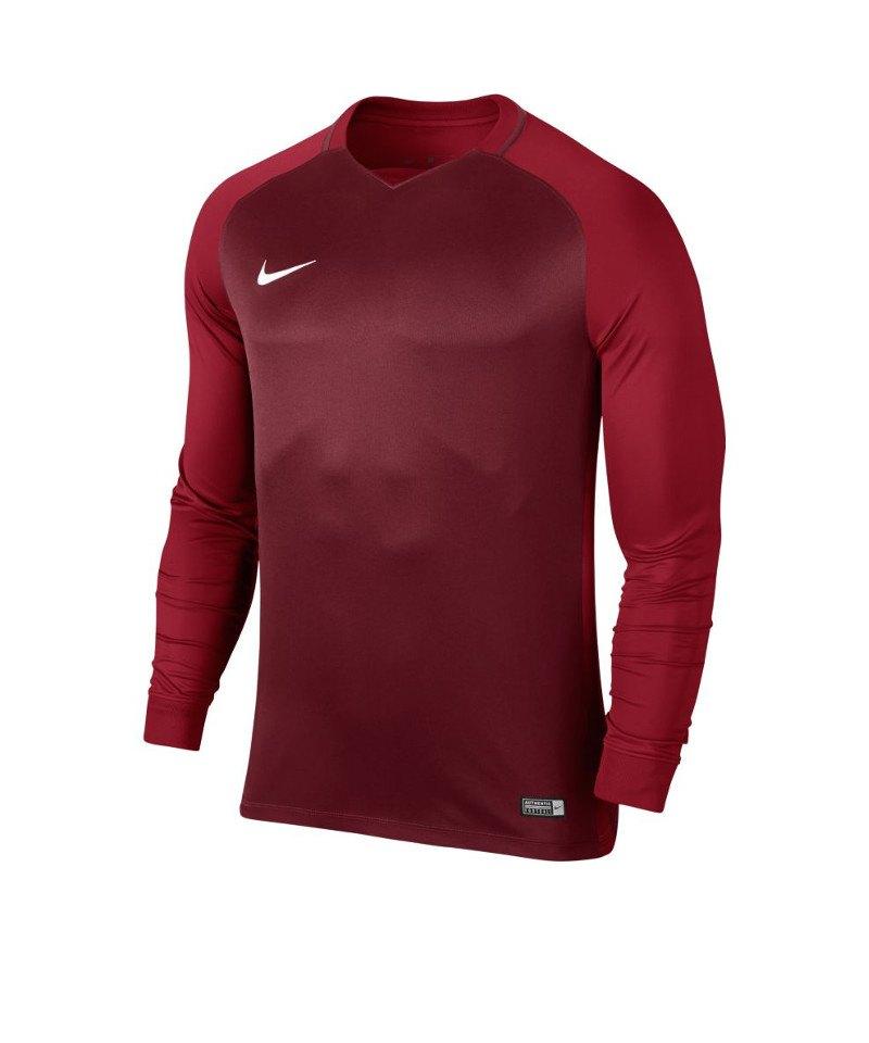 finest selection 3395f 26179 Nike langarm Trikot Trophy III Dry Team Rot F677