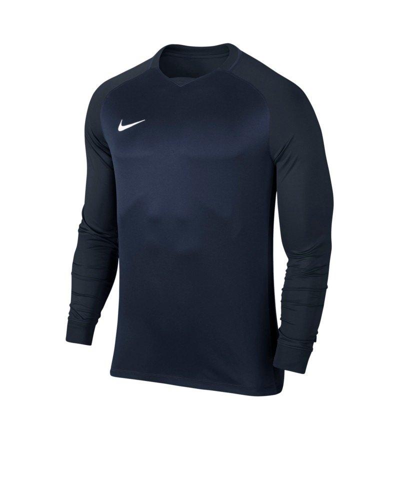 Nike Trophy III Dry Team Trikot langarm Kids F410 - blau