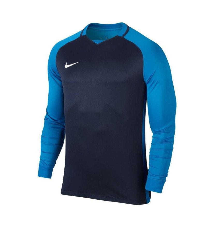Nike Trophy III Dry Team Trikot langarm Kids F411 - blau