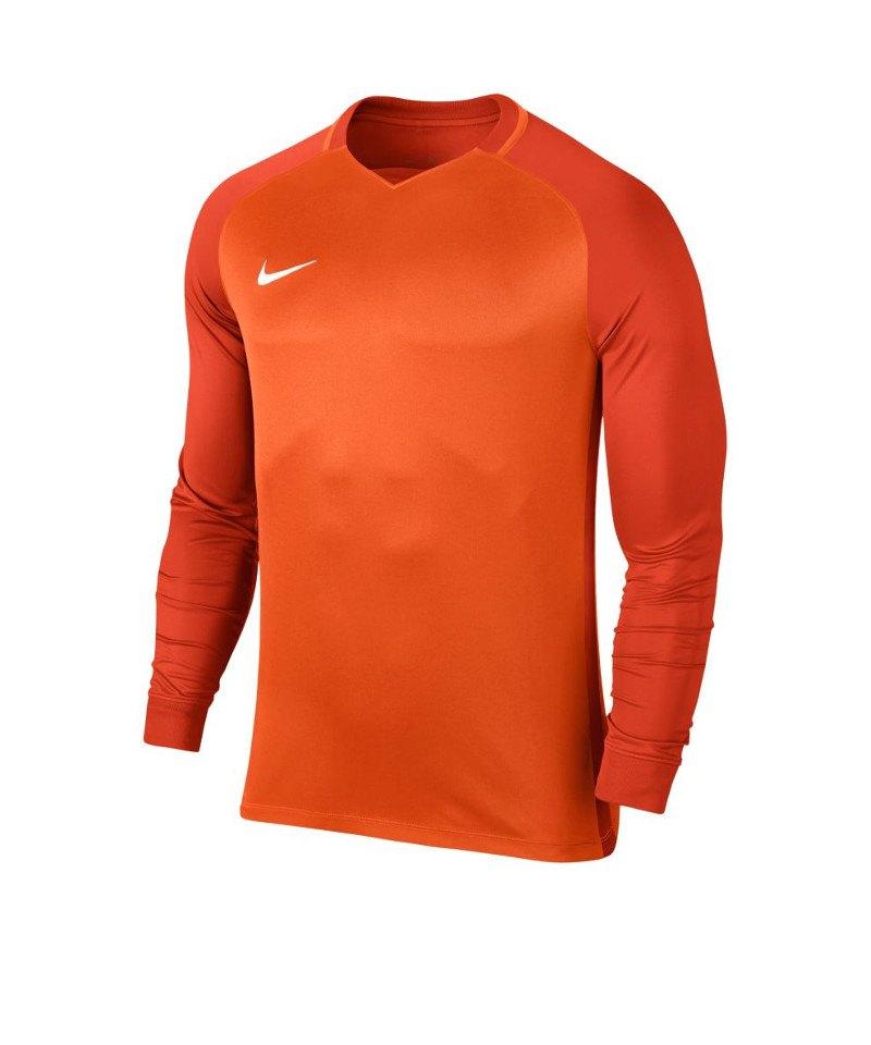 Nike Trophy III Dry Team Trikot langarm Kids F815 - orange