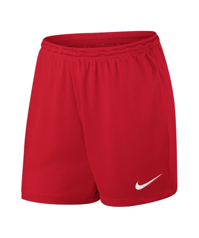 Nike Short Park II Knit ohne Innenslip Damen F657 - rot