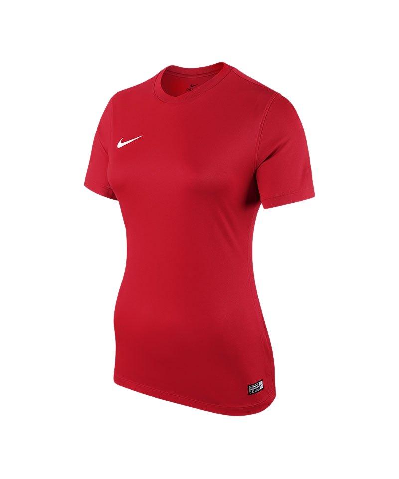 Nike Trikot Park VI kurzarm Damen Rot F657 - rot
