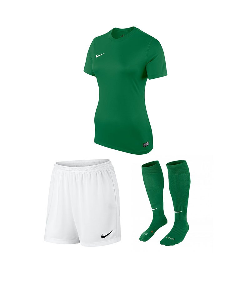 Nike Trikotset Park VI Damen Grün Weiss F302 - gruen