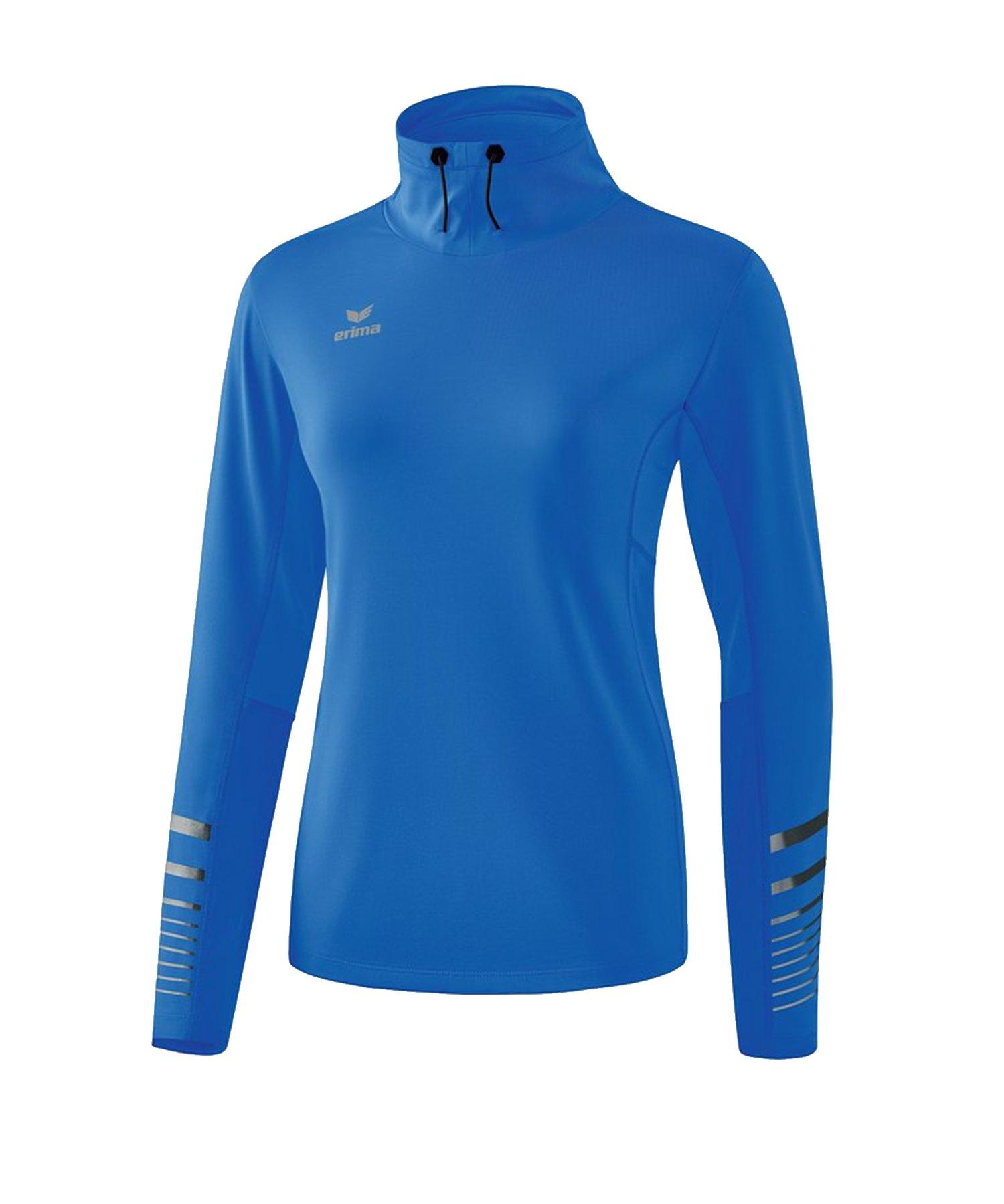 Erima Race Line 2.0 Running Longsleeve Damen Blau - Blau