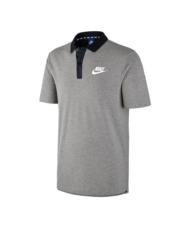Nike Poloshirt Advance 15 Grau F063 - grau