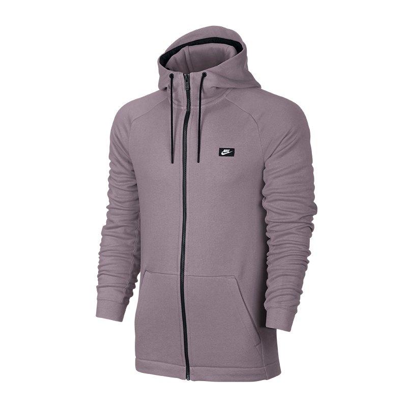 Nike Modern FZ Hoody Kapuzenjacke Lila F694 - lila