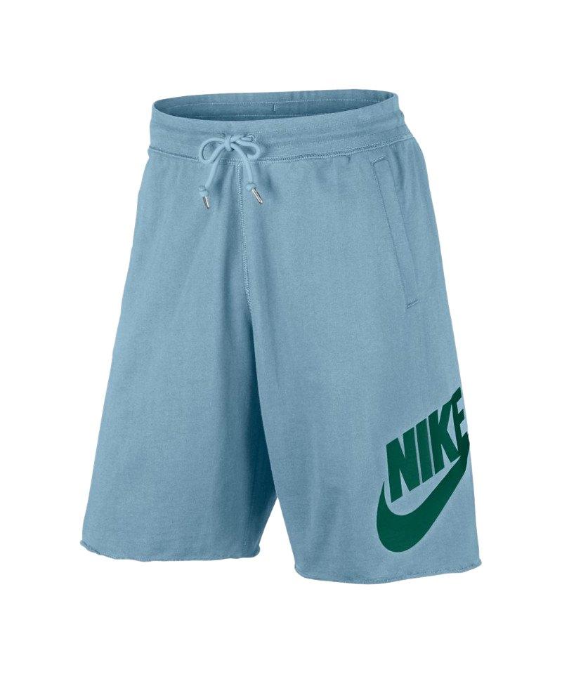Nike FT GX 1 Short Hose kurz Blau Grün F452 - blau