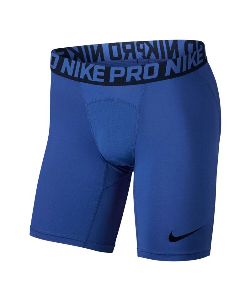 Nike Pro Short Hose Blau F480 - blau