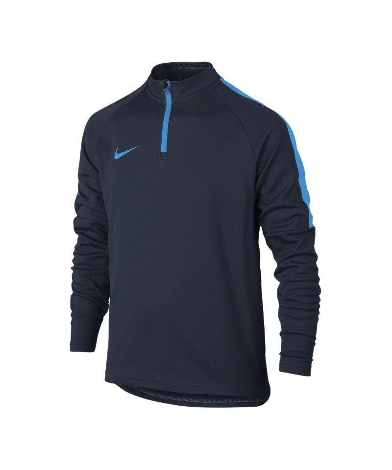 Nike Dry Academy Football Drill Top LS Kids F454 - blau
