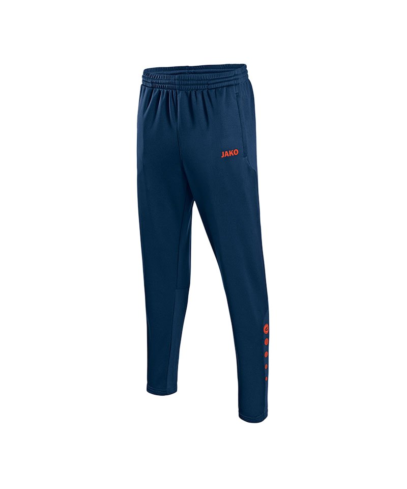 Jako Trainingshose Allround lang Kinder Orange F18 - blau