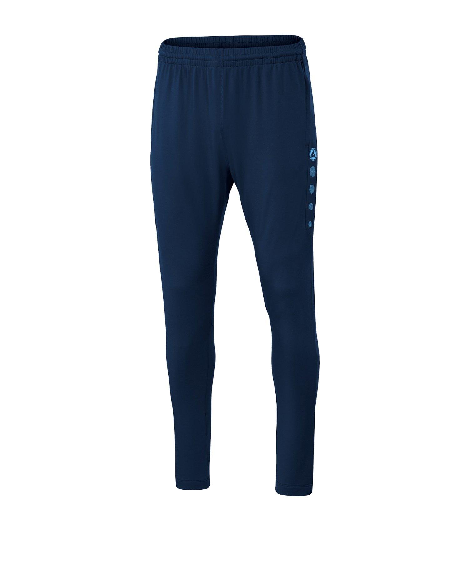 JAKO Premium Trainingshose Blau F95 - blau