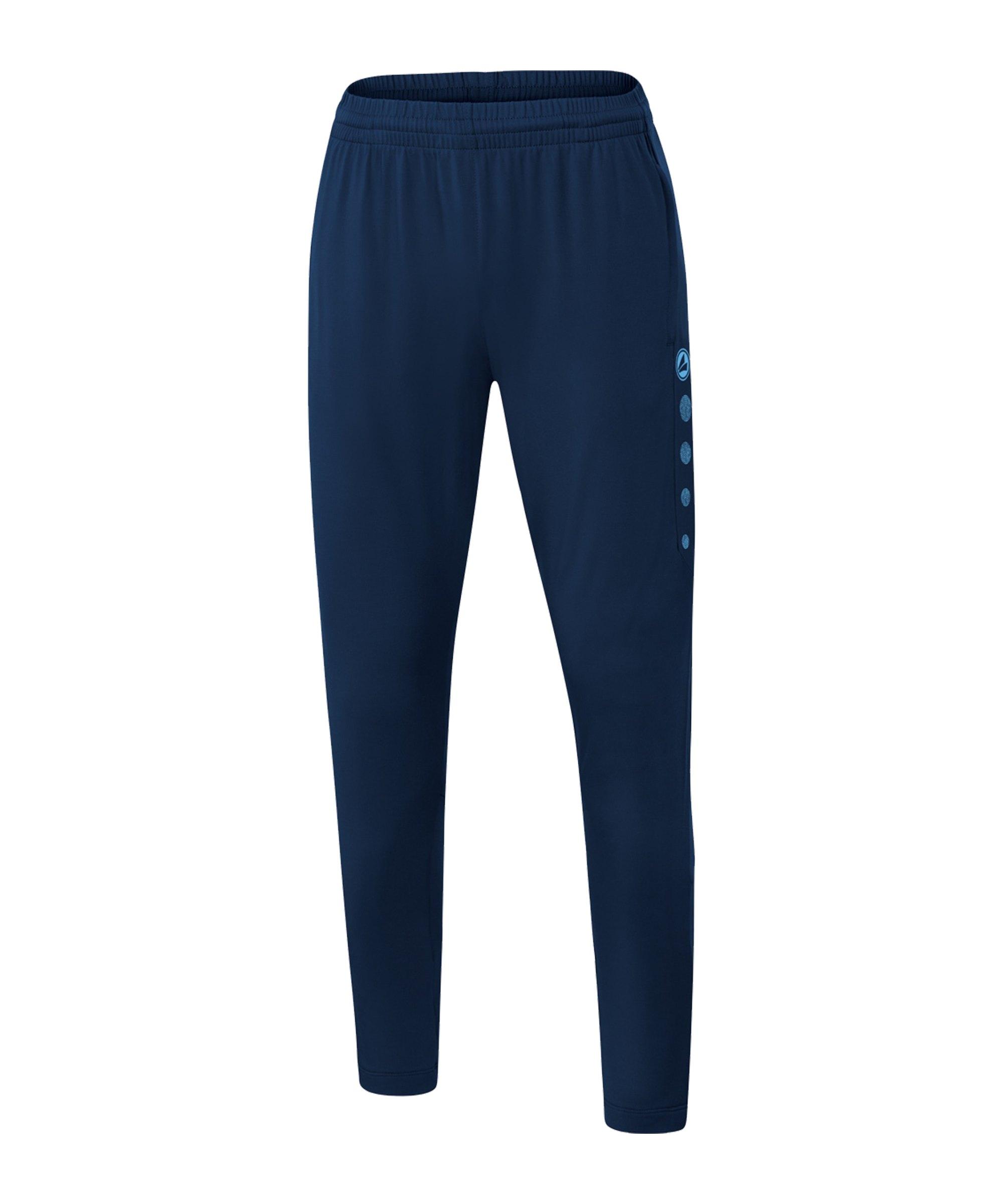 JAKO Premium Trainingshose Damen Blau F95 - blau