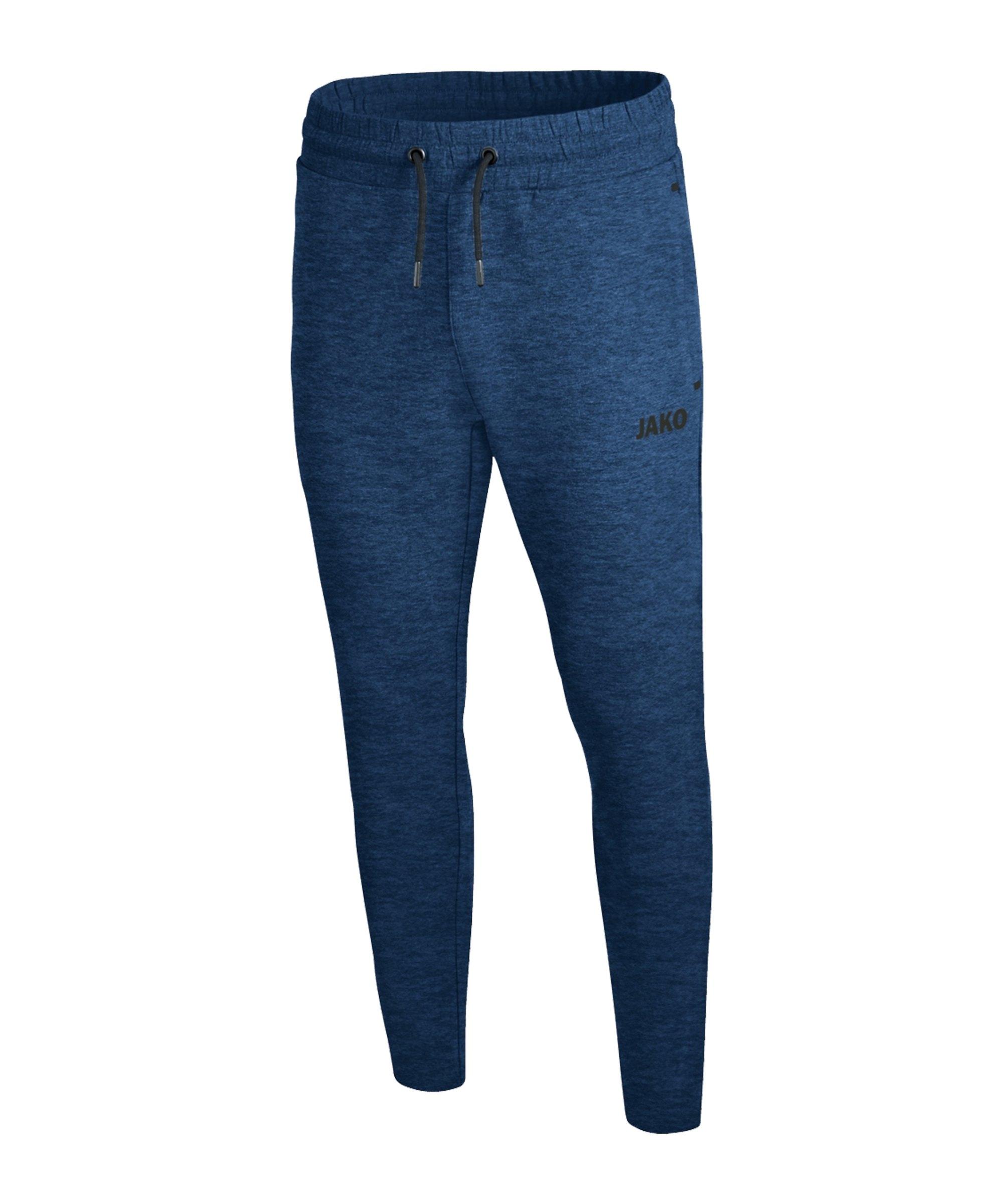 Jako Premium Basic Jogginghose Blau F49 - blau