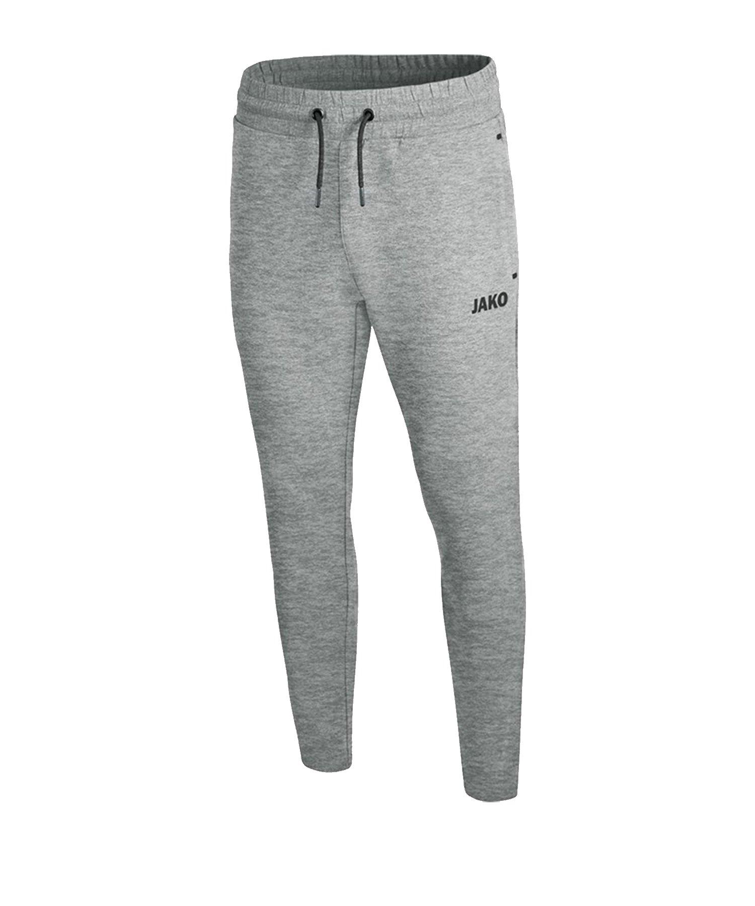 Jako Premium Basic Jogginghose Grau F40 - grau