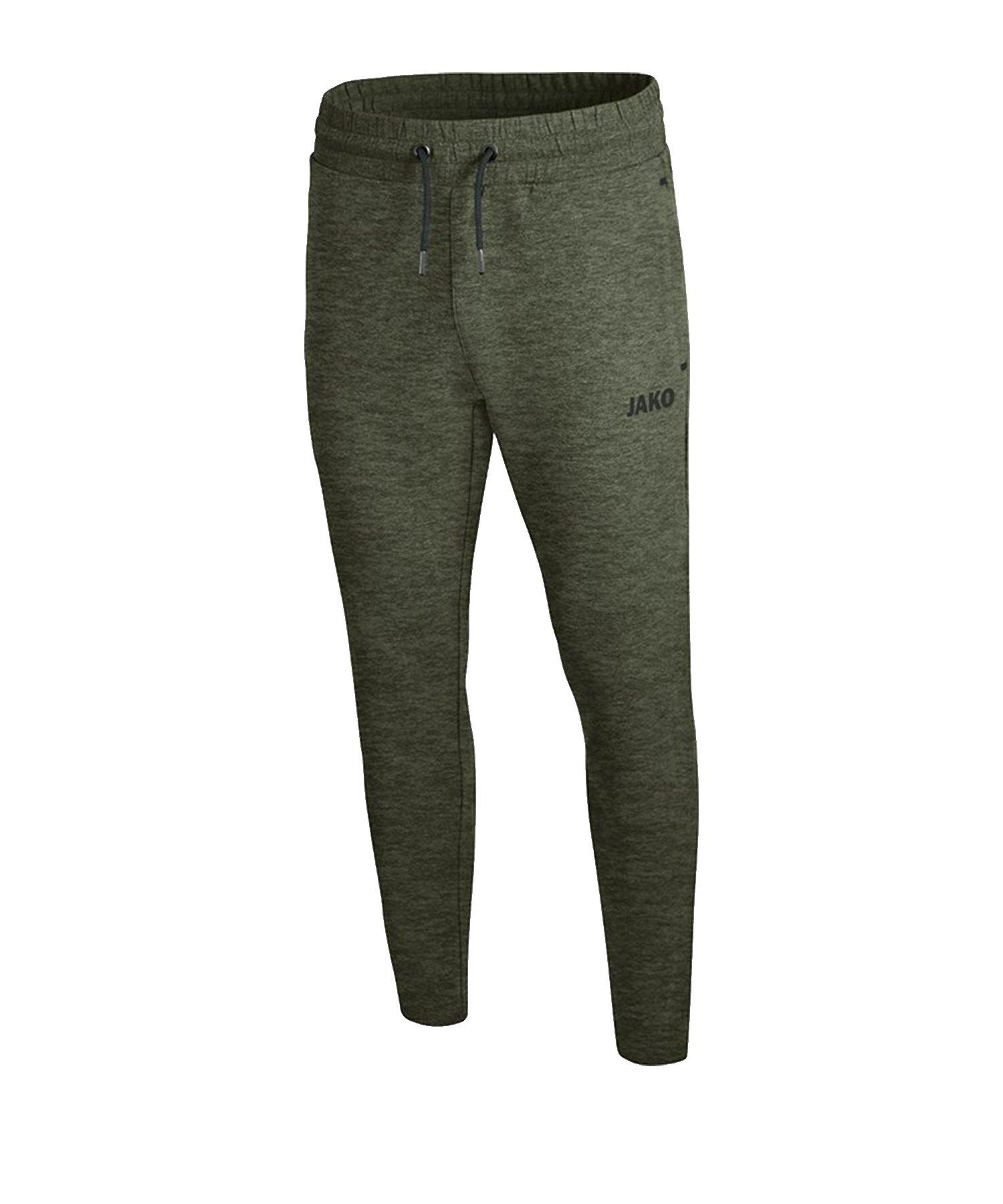 Jako Premium Basic Jogginghose Grün F28 - Gruen