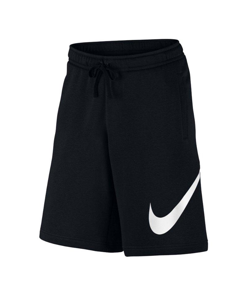 Nike Club Short Hose kurz Schwarz F010 - schwarz