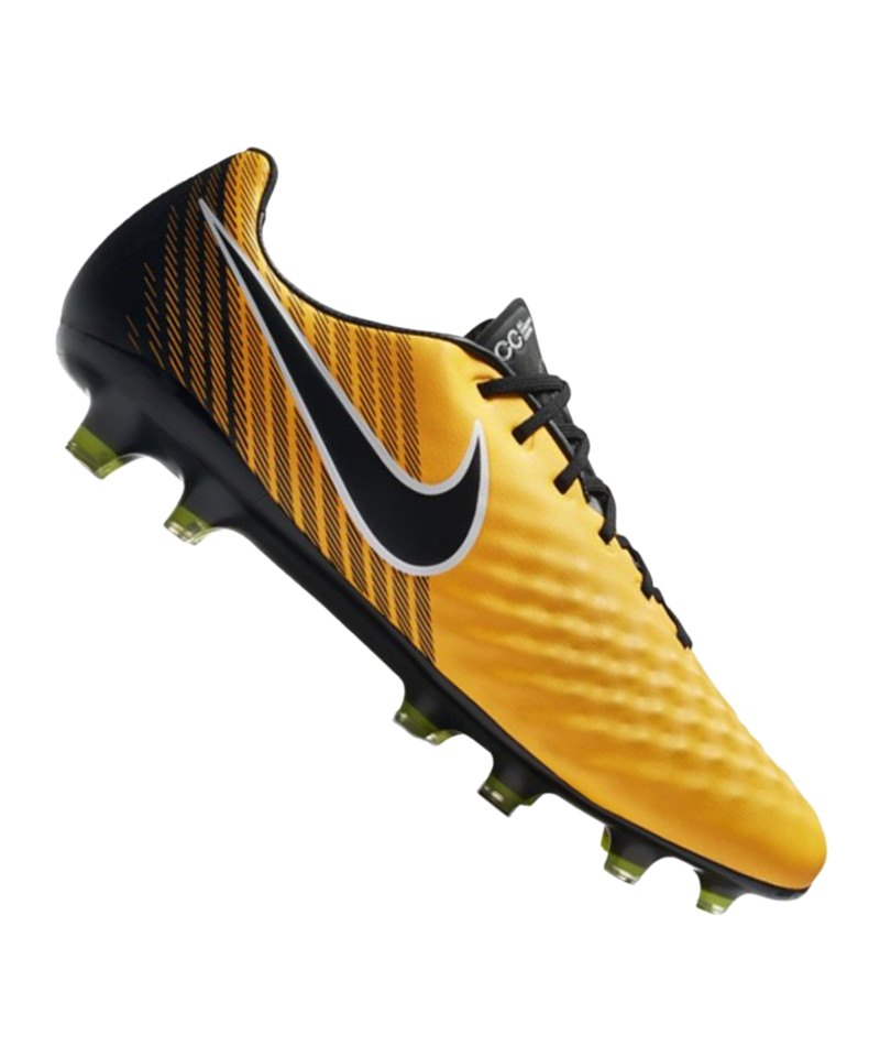 Nike FG Magista Opus II Orange Schwarz F801 - orange