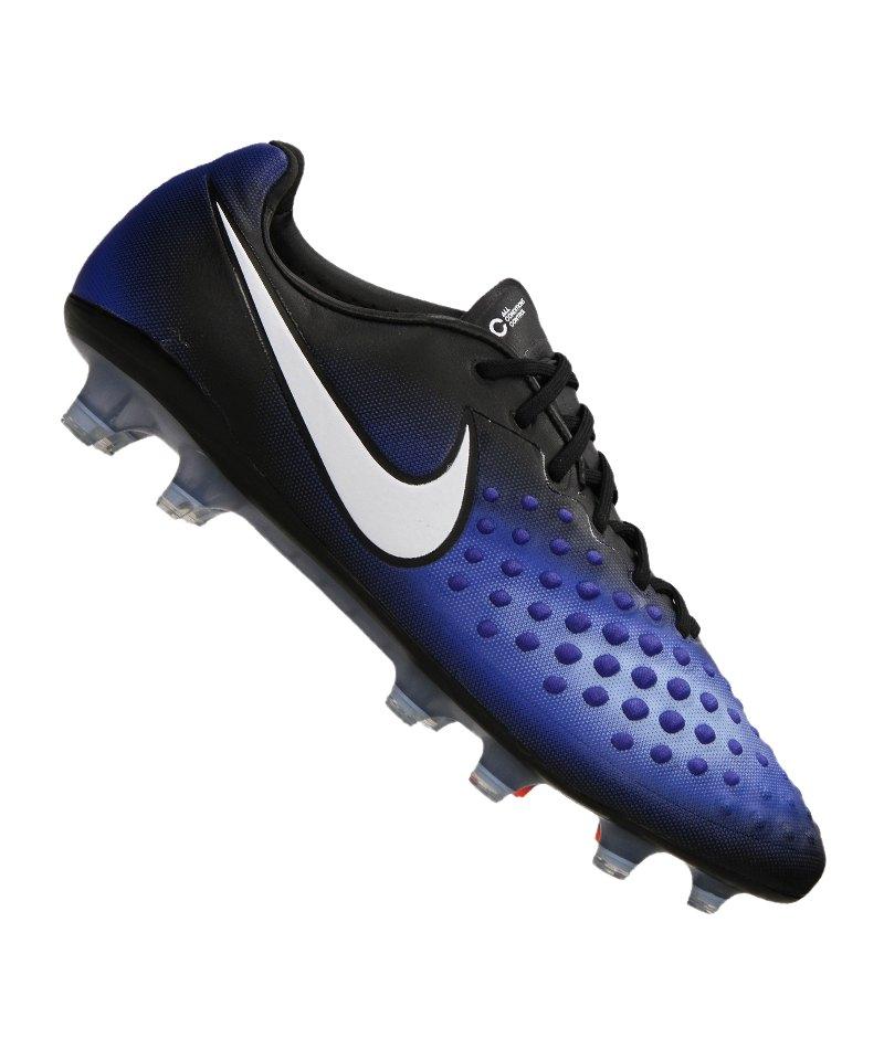 Nike FG Magista Opus II Schwarz Blau F018 - schwarz
