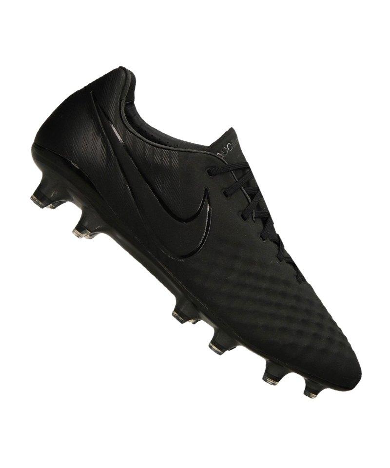 Nike FG Magista Opus II Schwarz F001 - schwarz
