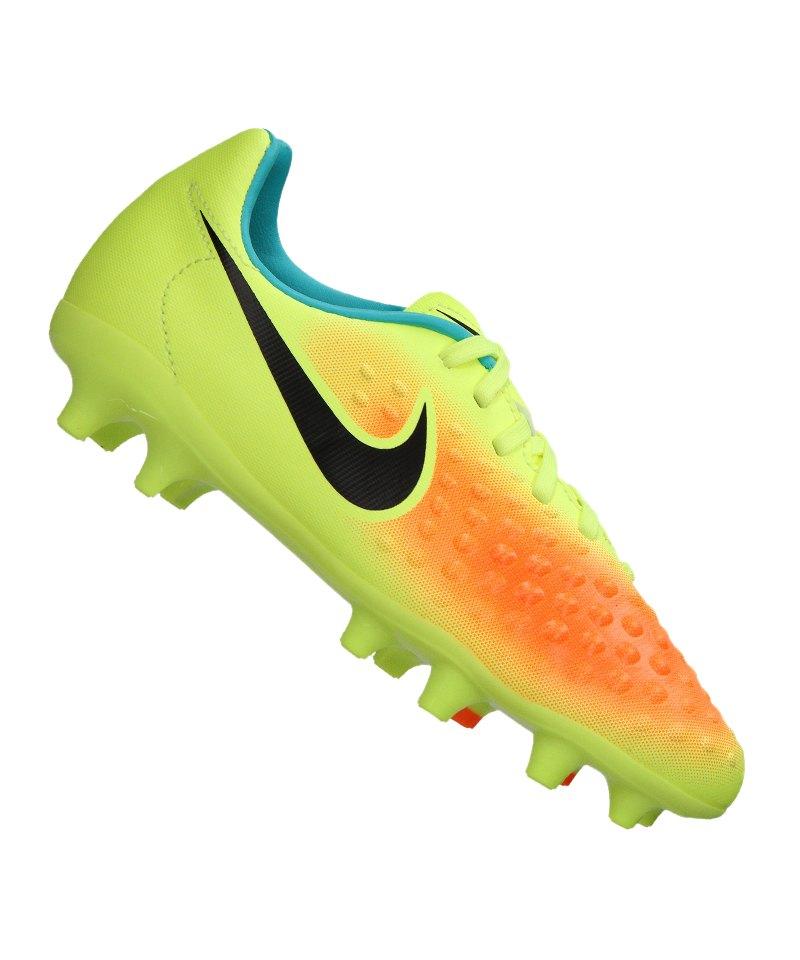 Nike FG Jr Magista Opus II Kinder Gelb F708 - gelb