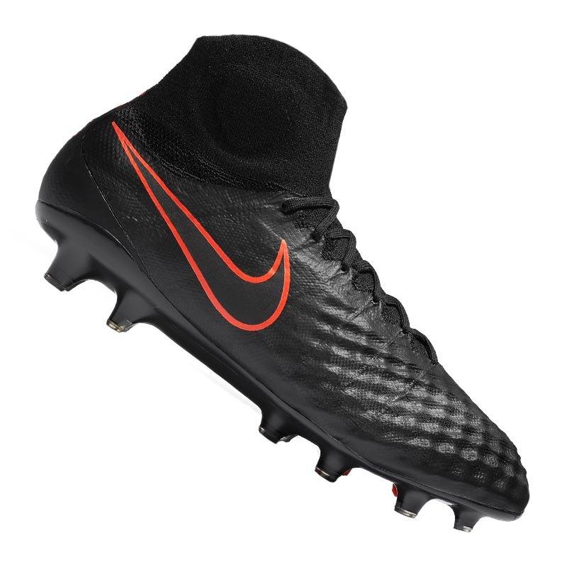 Nike FG Magista Obra II Schwarz F008 - schwarz