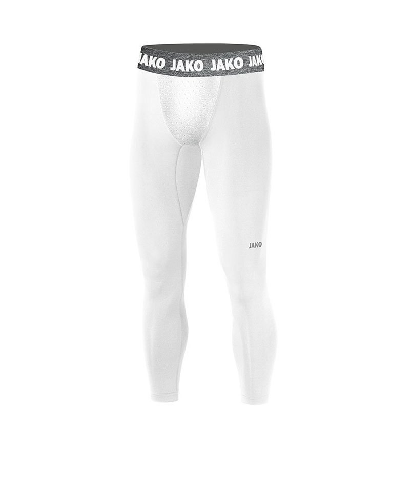 Jako Compression 2.0 Long Tight Kids Weiss F00 - weiss