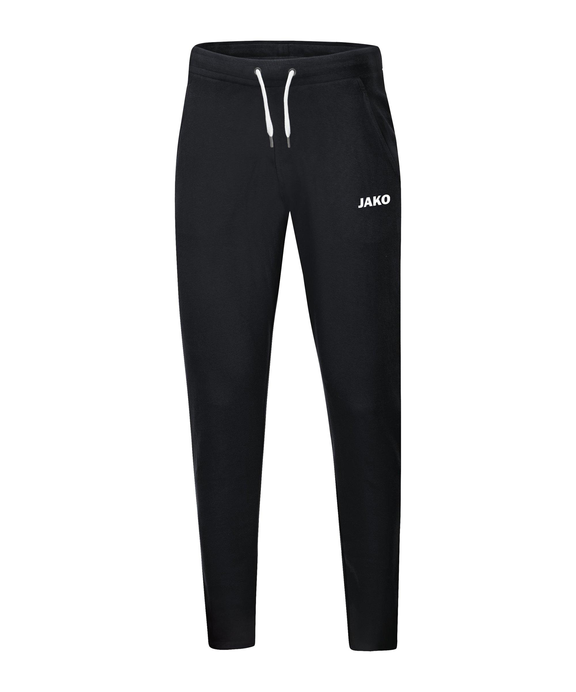 JAKO Base Jogginghose Damen Schwarz F08 - schwarz