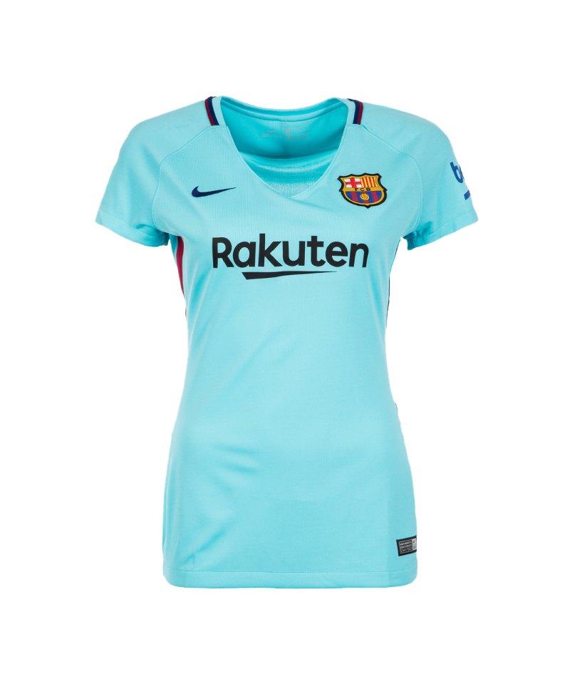 Nike Trikot Away 2017/2018 FC Barcelona Damen F484 - blau