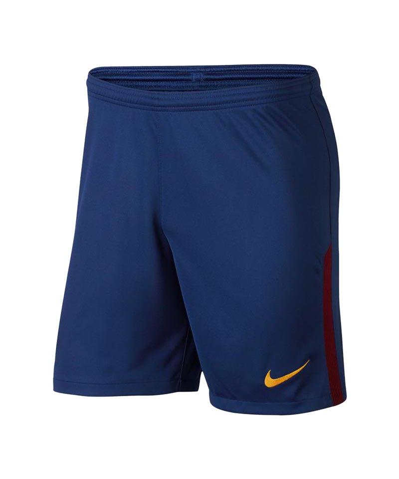 Nike Short Home 2017/2018 FC Barcelona Blau F455 - blau