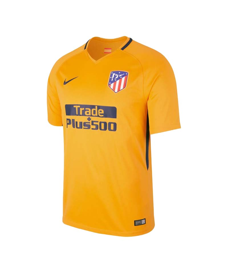 Nike Trikot Away Atletico Madrid 2017/2018 F740 - gelb