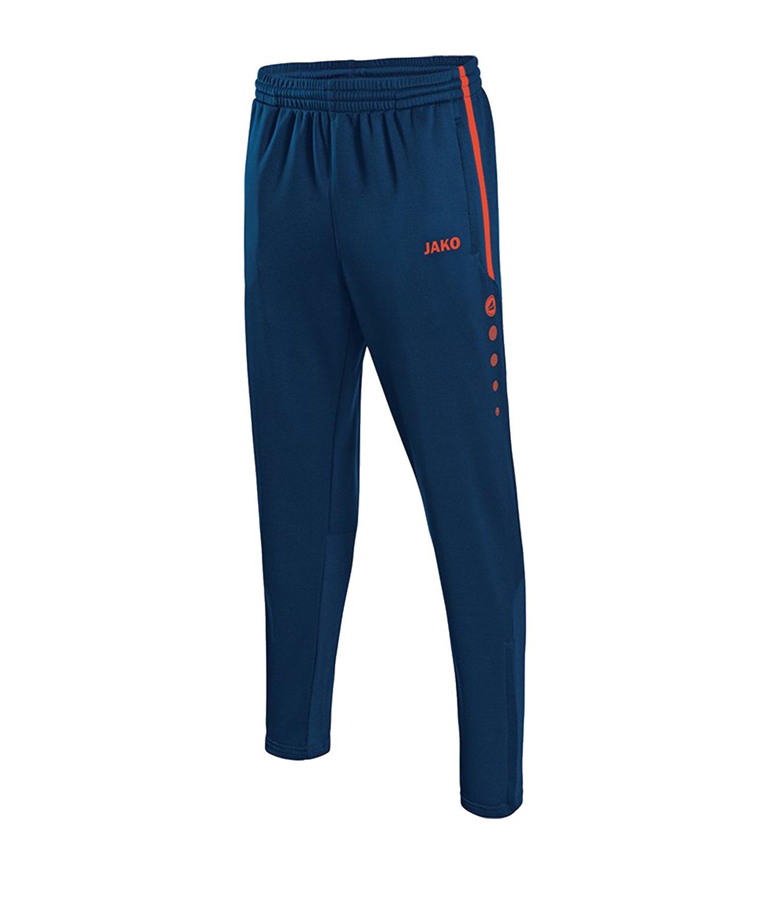 Jako Active Trainingshose Kids Blau Orange F18 - Blau