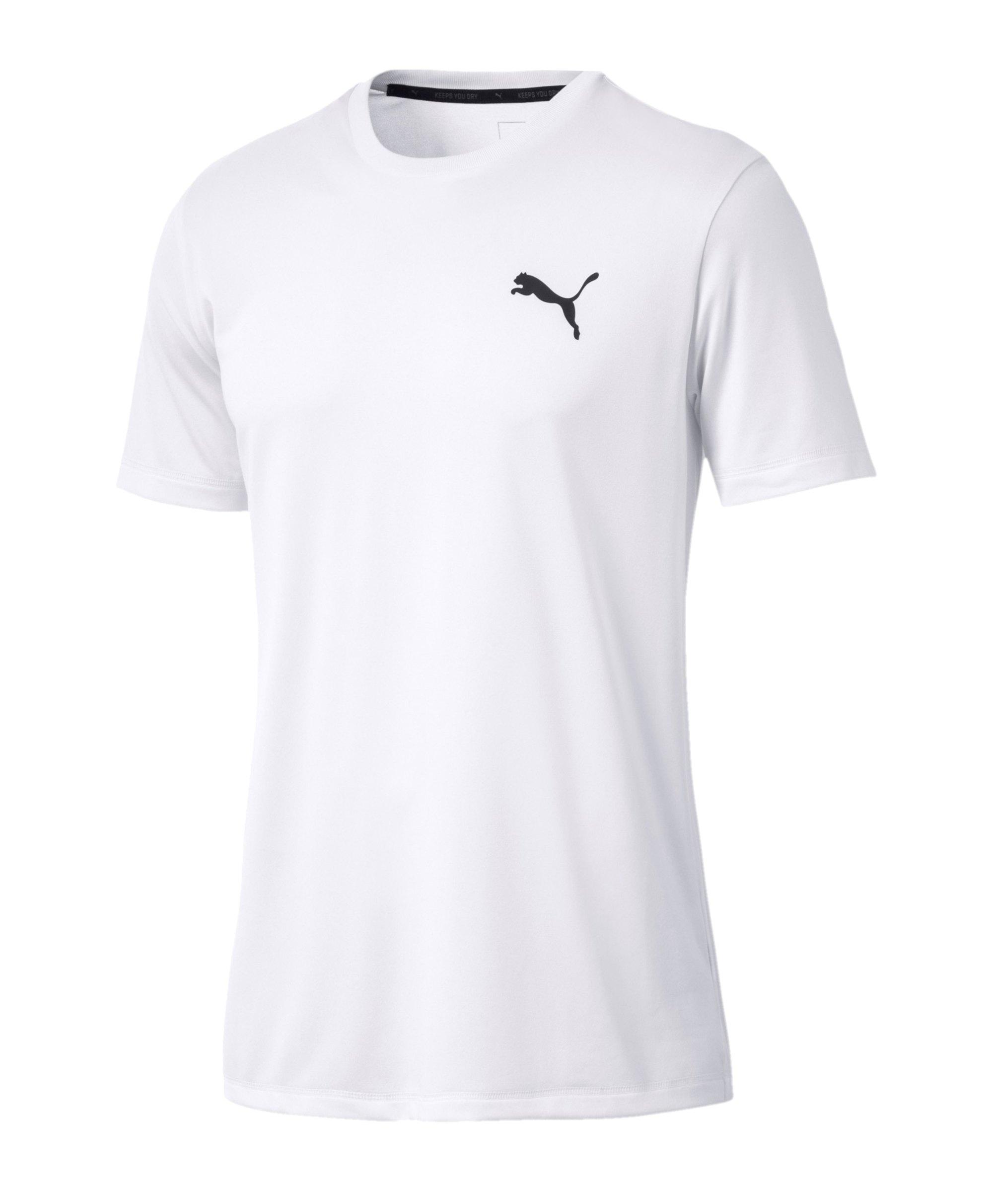 PUMA Active T-Shirt Weiss F02 - weiss