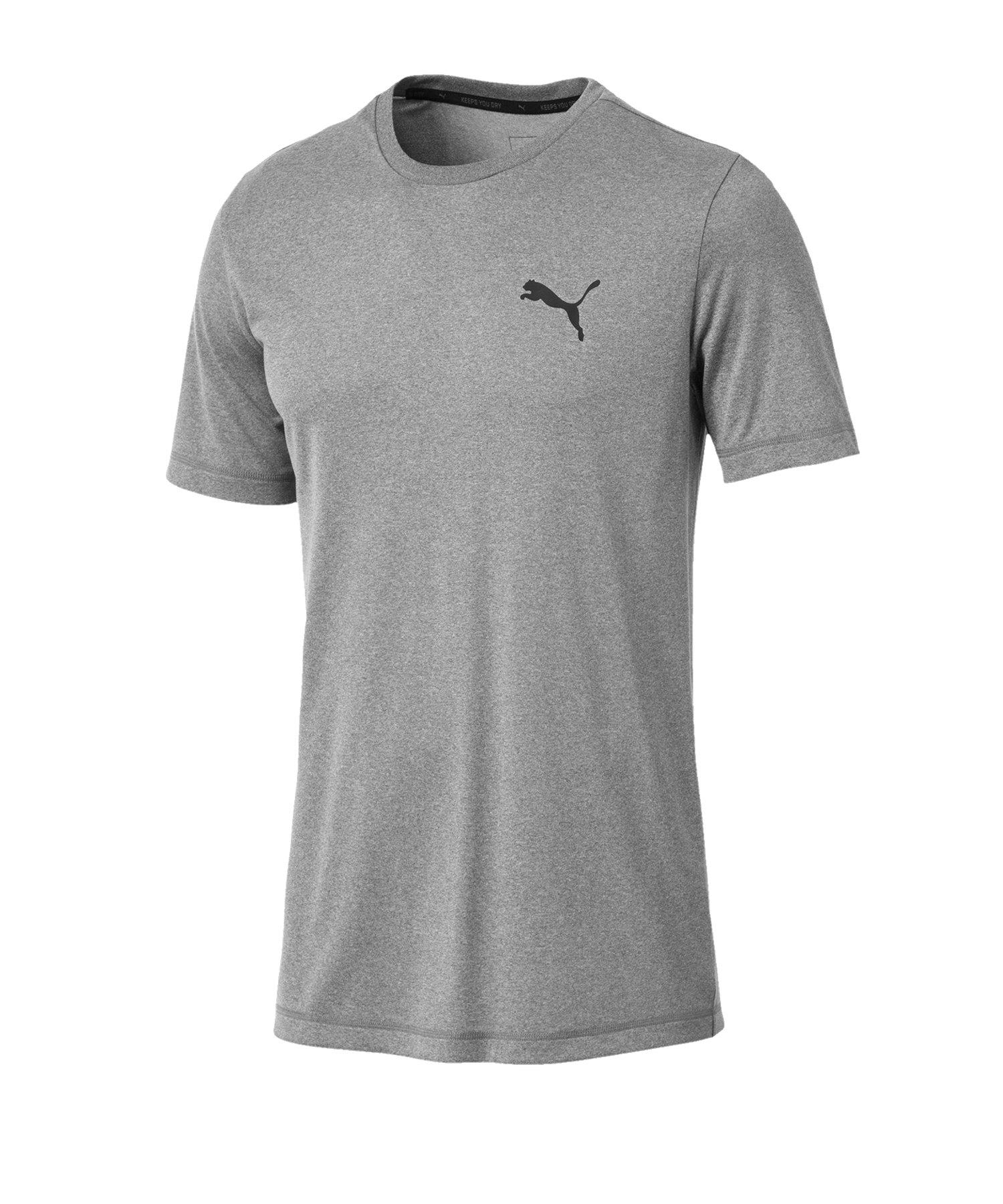 PUMA Active Tee T-Shirt Grau F03 - grau