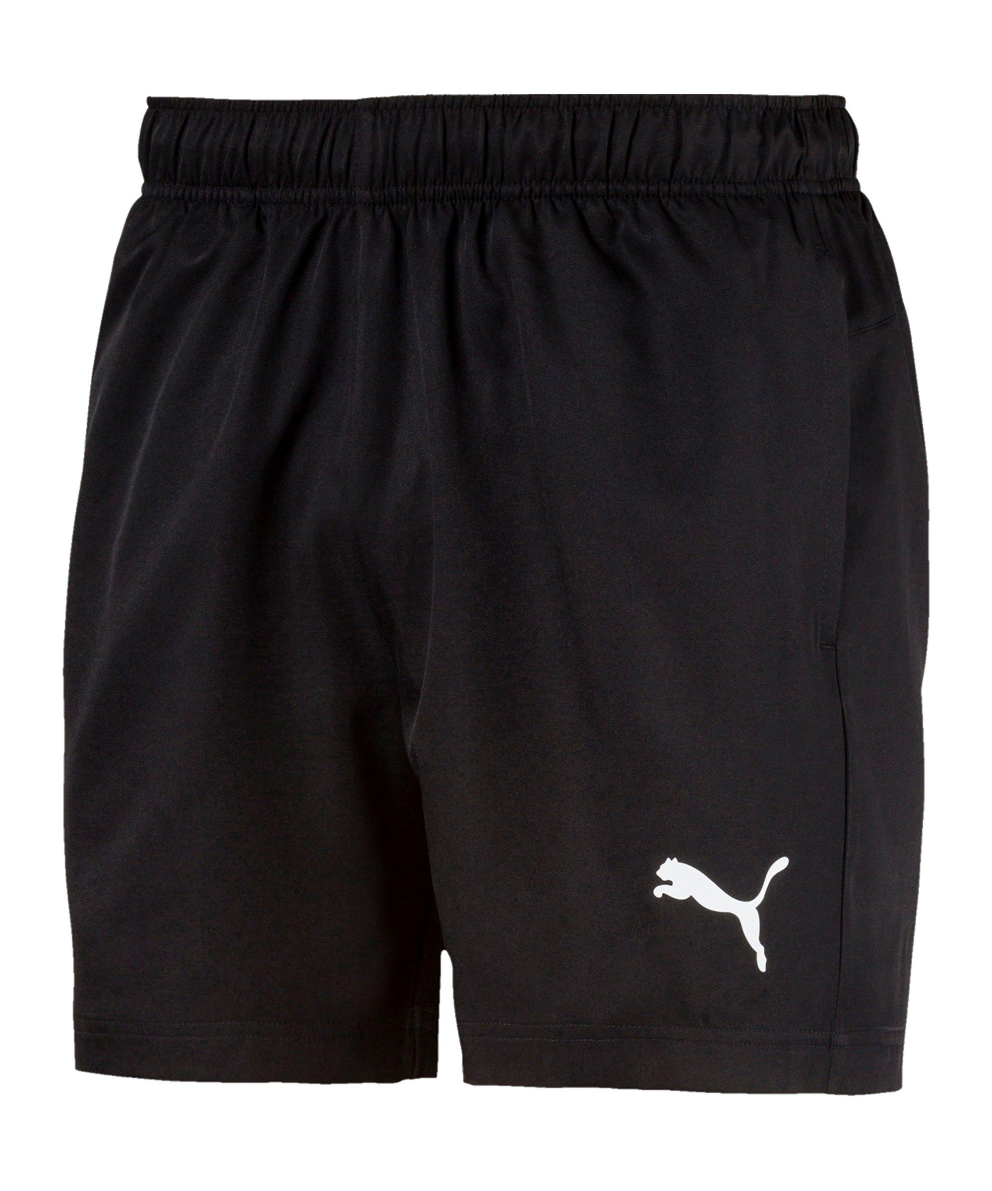 PUMA Active Woven Short 5´ Schwarz F01 - schwarz