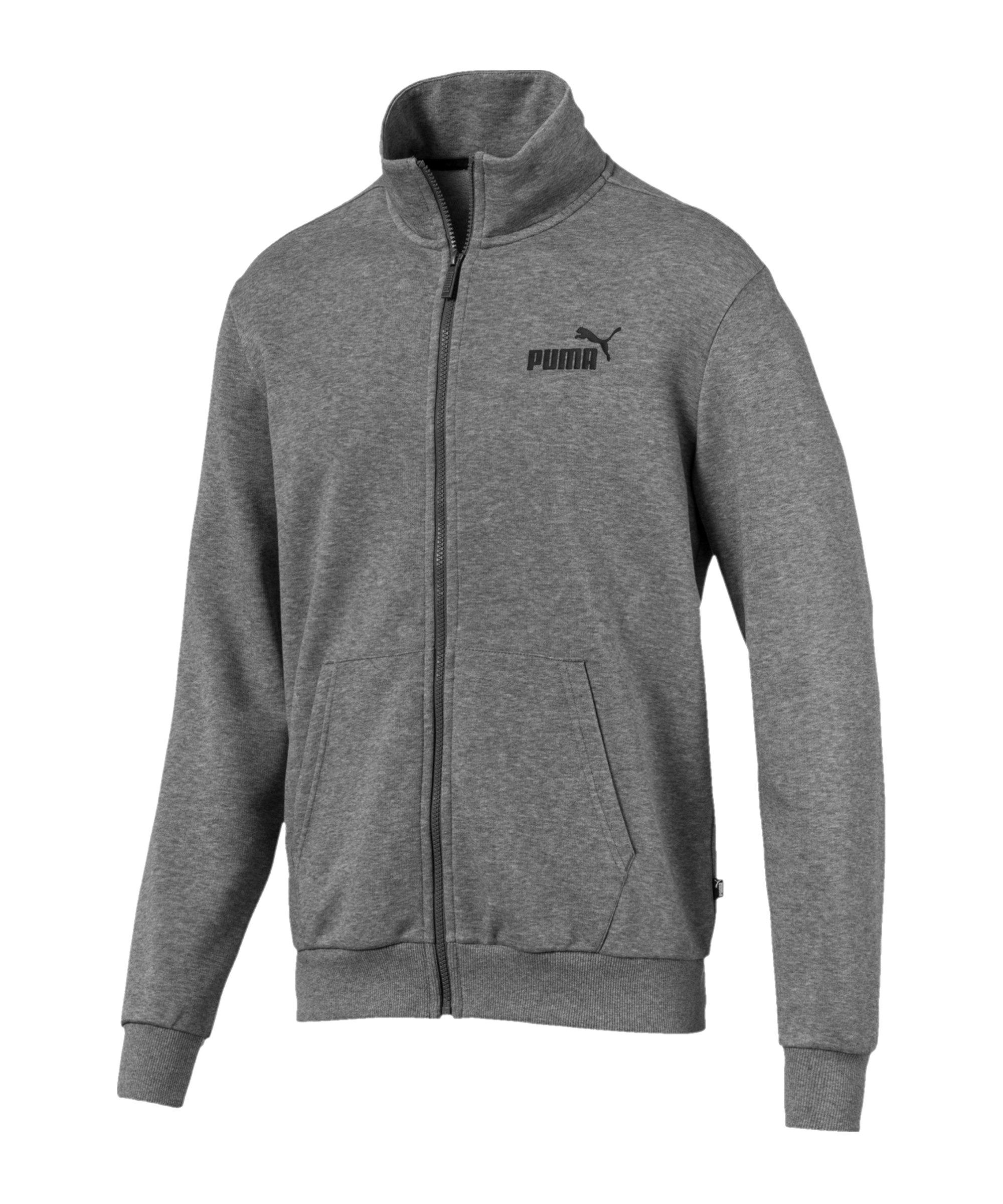 PUMA Essentials Track Trainingsjacke Grau F03 - grau