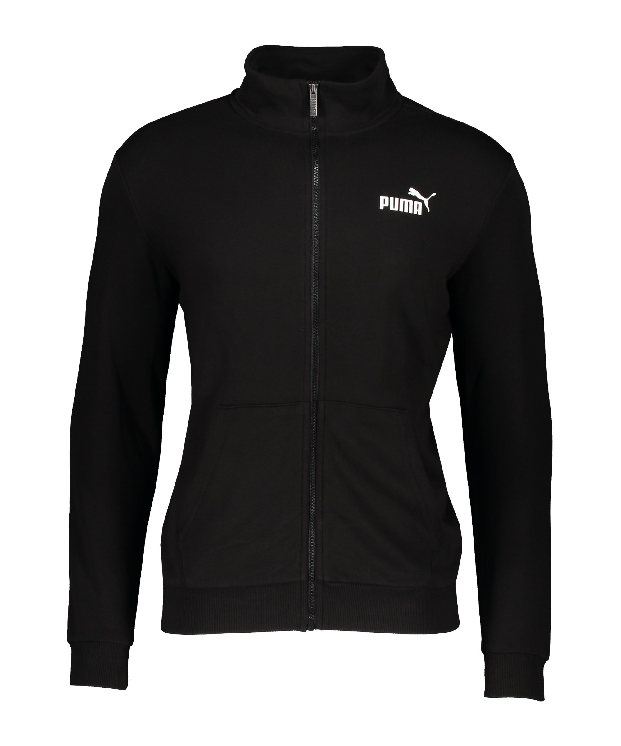 PUMA Essentials Track Trainingsjacke Schwarz F01 - schwarz