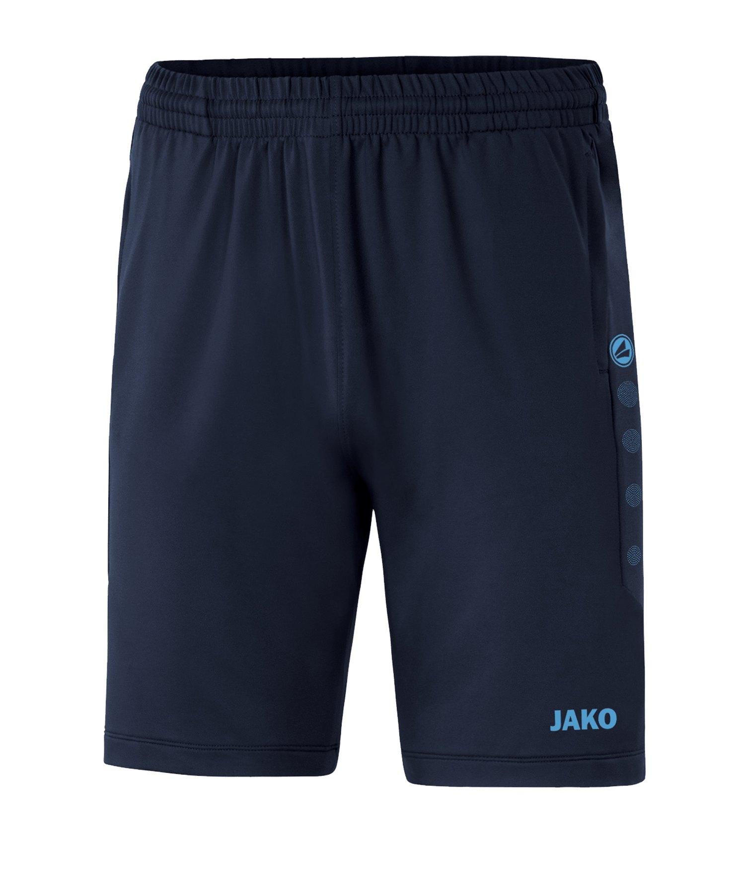 JAKO Premium Trainingsshort Blau F95 - blau