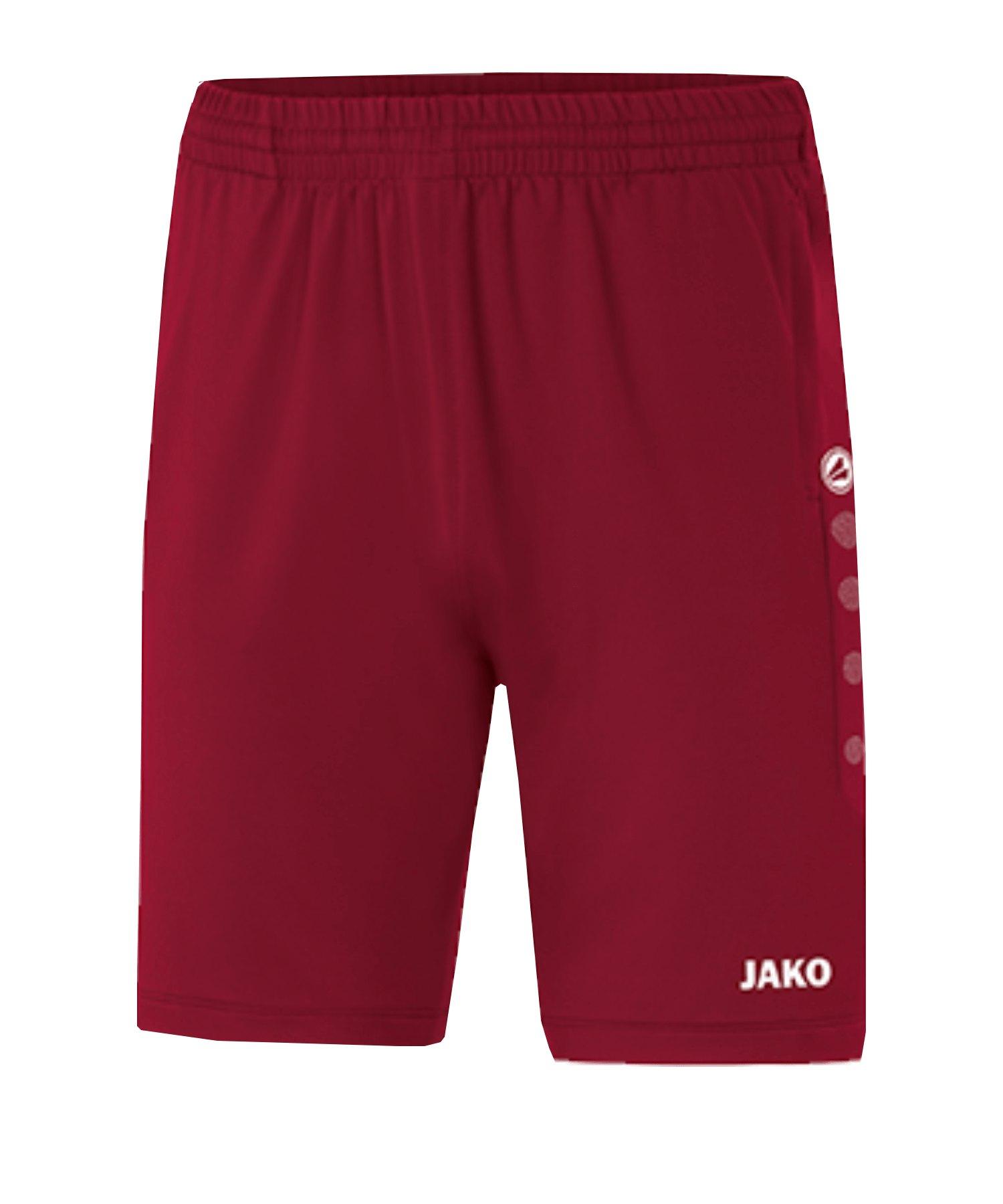 JAKO Premium Trainingsshort Kids Rot F01 - rot
