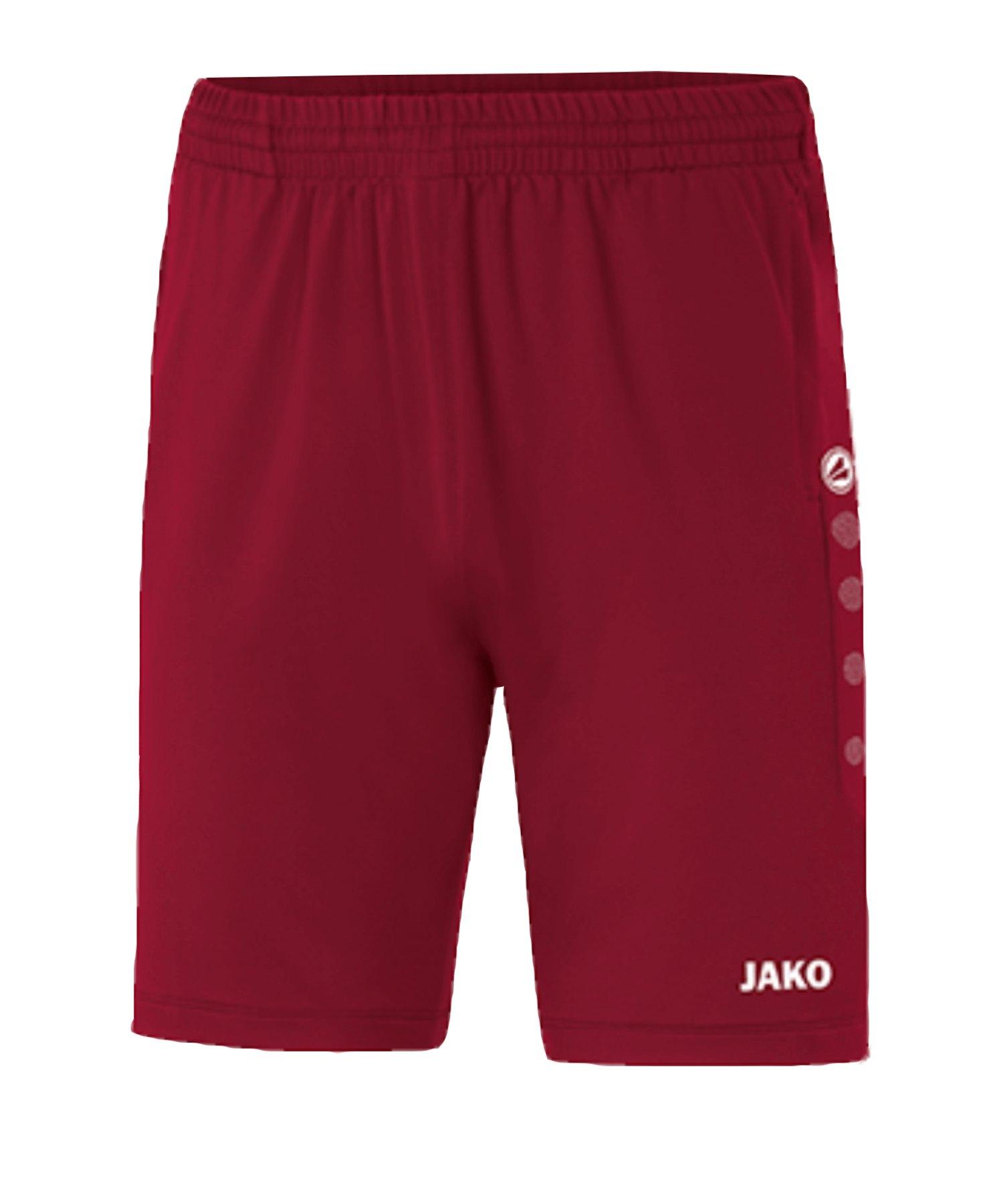 JAKO Premium Trainingsshort Rot F01 - rot