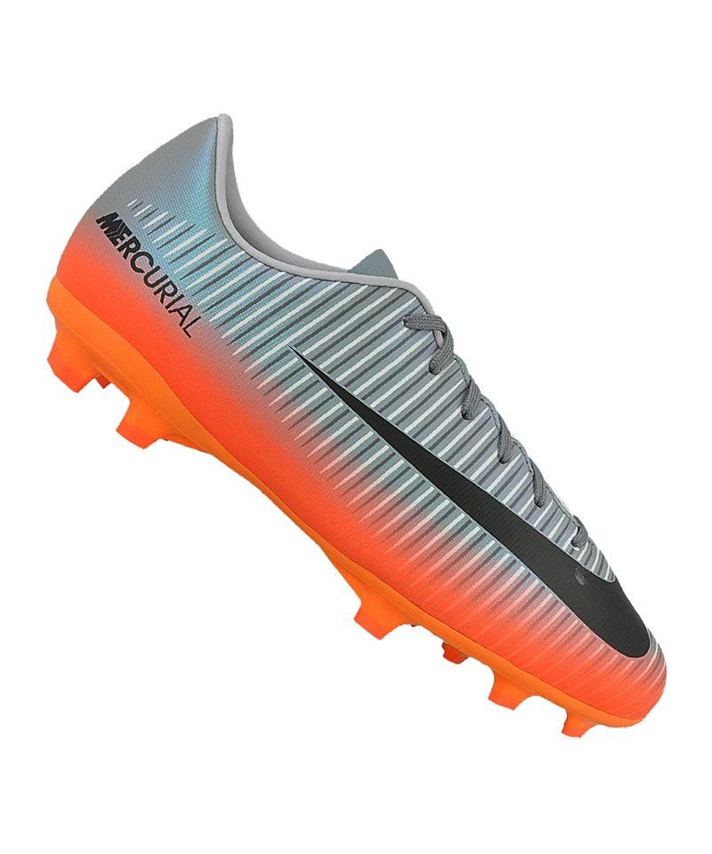 Nike FG Jr Mercurial Victory VI CR7 Kiinder F001 - grau
