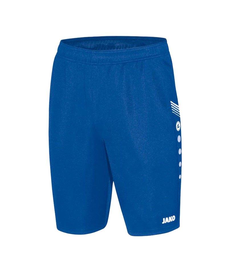 Jako Trainingsshort Pro Kinder F04 Blau - blau