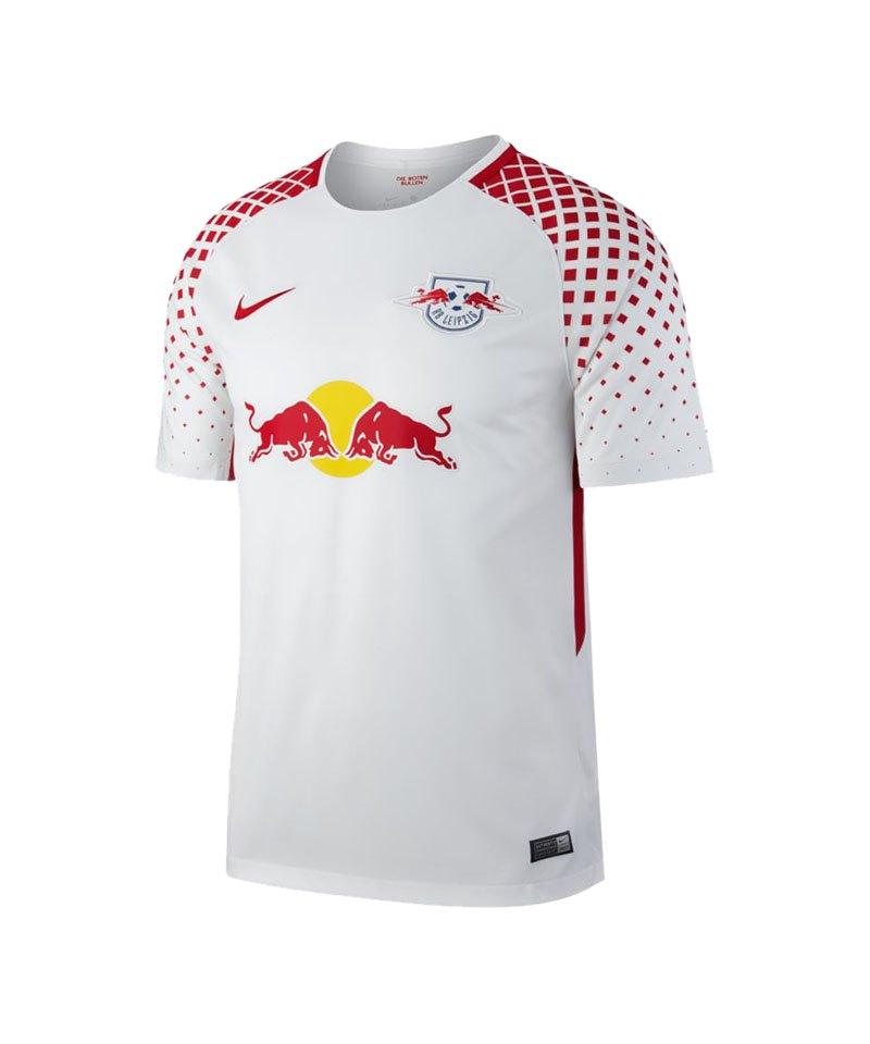 Nike Trikot Home 2017/2018 RB Leipzig Weiss F101 - weiss